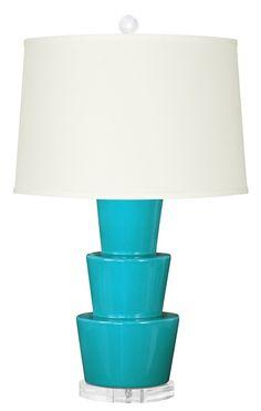 Bungalow 5 Costa Lamp | Polka Dot Peacock