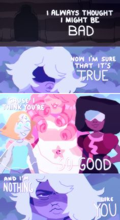 Soft Bubbles — WOW,, i found this steven universe art i made in. Soft Bubbles — WOW,, i found this steven universe art i made in. Steven Universe Quotes, Steven Universe Pictures, Steven Universe Theories, Steven Universe Wallpaper, Steven Universe Movie, Universe Art, Diamante Rosa Steven Universe, Amethyst Steven Universe, Steven Universe Gem Fusions