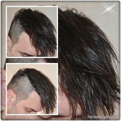 Corte actual para resaltar o destacar tus peinados look despeinado o look tupé.