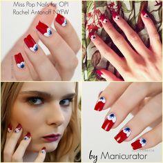 Nail Art Fashion Week 2015 Day 7 - Fall Runway Nail Art - Miss Pop Nails for Rachel Antonoff