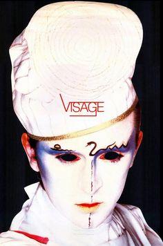 --Original New Romantics make-up Visage