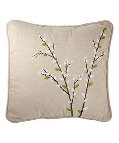 Look at this #zulilyfind! Forest Lane Square Porch Pillow #zulilyfinds