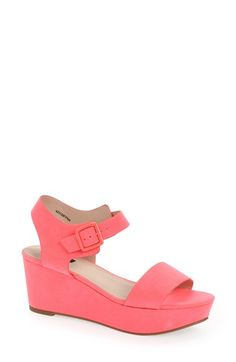 Topshop 'Heavenly' Wedge Sandal available at #Nordstrom