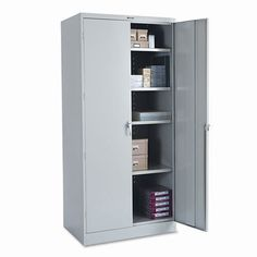 Storage Cabinet, Unassembled, Light Gray 2470Lgy, 2015 Amazon Top Rated Storage Cabinets #BISS
