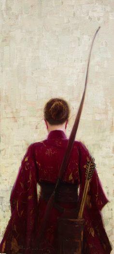 Bow Hunter (by Aaron Westerberg) [garnet kimono]