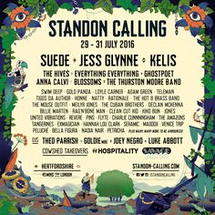 First names are out for Standon Calling 2016