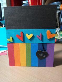 Rainbow Card - Two Peas in a Bucket