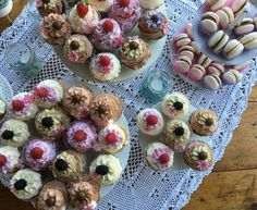 Cupcakes follies per tablecake Paola e Gilberto