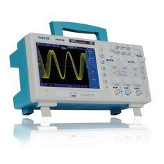 Professional Certified Hantek DSO5102S Digital Storage Oscilloscope 2CH 100MHz 7 TFT Memory Depth 1M 1GSa/s 8-bits 4nS/div-40S/div