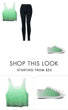 """Ombre green and white swirls doodles things"" by coconutlady-573 on Polyvore featuring OmbreGreenAndWhiteSwirlsDoodles"