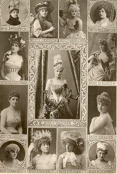 Edwardian Actresses--Sic transit gloria mundi