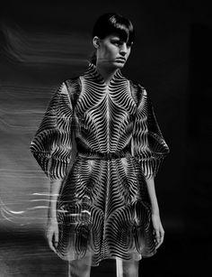 Trendland has been a big fan of Iris Van Harper since her beginning, and when fashion photographer duo Warren du Preez and Nick Thornton Jones shoot Hannah Elyse in Van Harper's Spring 2017