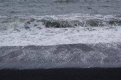 Black Sand Beach Of Vik Iceland Photograph