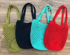 etsy crochet tote bags - Google Search Crochet Tote, Crochet Handbags, Tote Bags, Straw Bag, Purses And Bags, Google Search, Etsy, Fashion, Crochet Purses