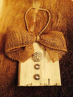 Rustic Christmas Ornament