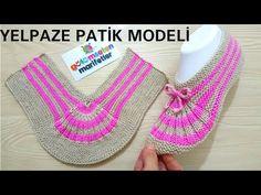 Knitting Basics: Easy two skewers women crochet socks styles beginner Yelpaze patik modeli yapımı / Knitting Basics, Knitting Blogs, Easy Knitting, Knitting Socks, Loom Knitting, Knitting Patterns, Crochet Patterns, Crochet Slippers, Knit Crochet