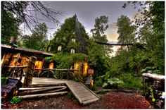 Magic Mountain Hotel in Southern Chile