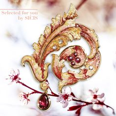 Brooches are on the rise this year and here we #SelectedForYou our precious Acanthus brooch made of gold, diamonds, rubies and micromosaic. See it in details. #sicis #sicisjewels #jewelry #jewelrygram #jewelrydesign #jewelrydesign #jewelrymaking #jewelryoftheday #jewels #luxury #luxurylifestyle #jewelrymaking #micromosaic #diamonds #diamondjewelry #necklace #ring #earrings #brooches