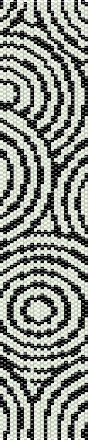 Предлагаем вашему вниманию интересные и красочные схемы плетения браслетов из бисера на специальном станке для бисероплетения.