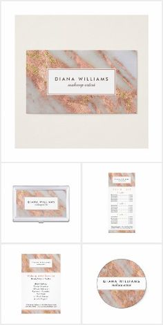 Sparkling Pink Marble Abstract Business Collection An elegantly feminine abstract marble pattern collection to feature your business in modern style. Colors include pink and grayish-white with gold glitter sparkle highlights and chic text layout. This collection is shown with a makeup artist title but also works beautifully for many professions: stylish, manicurist, interior design, personal shopper, assistant, office manager, sales, accountant, legal, fashion industry, and more.