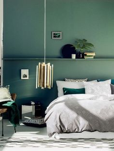 Alphabet Lifestyle Interior design green room decorating ideas - see more