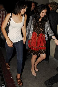 At a party with my friend me grace phipps