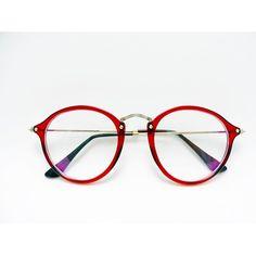 oculos redondo vermelho para grau - aqui na oculos-club