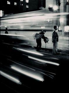Train station, Japan, 1961 - by W. Eugene Smith (1918 - 1978), USA