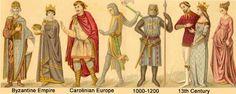 Mercados Medievales y Renacentistas: La Moda en la Historia II- Edad Media, hasta siglo XIII