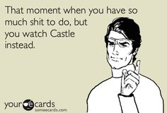 Priorities:  1. Castle  2. Everything else. You need a mental escape, right? Of course.