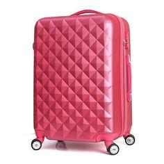Unisex Suitcases on Wheels Aanti-tear ABS Plastic Travel Rolling Luggage Aluminum Alloy Pull Rod 360 Degree Rotating Trolley Travel Trolleys, Luggage Case, Trolley Case, Aluminium Alloy, Suitcases, Unisex, Wheels, Arabic Jokes, Plastic