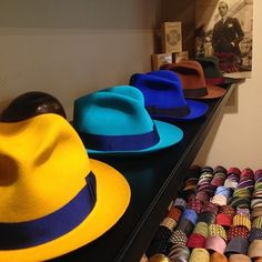 Luca Rubinacci: Welcome to Rubinacci Montenapoleone.. My favorite color...newcollection summer2014 mens hats, ties - colors - spring