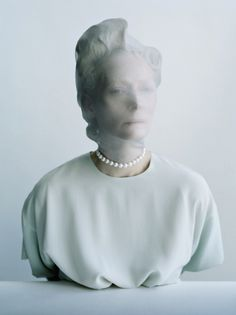 """ Tilda Swinton photographed by Tim Walker for W Magazine ""The Surreal World"" """