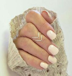 Midway ring and love the nail color!