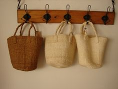 mini basket ...PAO Kyoto Suitcases, Kyoto, Straw Bag, Woods, Baskets, Weaving, Reusable Tote Bags, Rustic, Natural