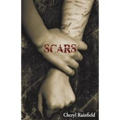 SCARS by Cheryl Rainfield. (It's my own arm on the cover of SCARS. I wrote it from an insider perspective, as an incest and ritual abuse survivor,  as someone who used self-harm to cope, and as someone who is queer.)    In SCARS, Kendra must face her memories, identify her abuser, and find a way to get herself safe, all while falling in love.