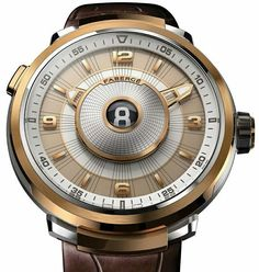 Fabergé 推出了一枚新腕表「Visionnaire DTZ」雙時區腕表,最特別之處是在錶盤中央有一個數字窗,用來直觀呈現第二時區的小時讀數。