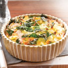 Potato and spinach frittata | Healthy Food Guide