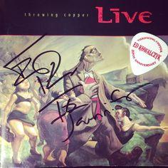 Live Throwing Copper signed by Ed Kowalczyk (www.memyselfandjen.com)