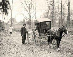 #foto che hanno segnato un'epoca Servizio postale nel 1914