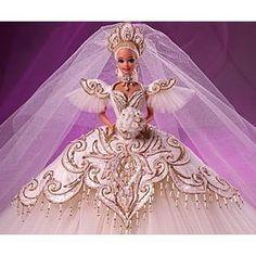 The Most Beautiful Barbie Bride!