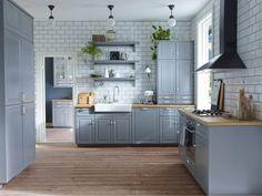 Blauw/grijze keuken #ikeawin