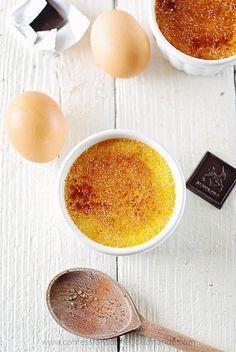 Crème brulée inratable (avec texte)