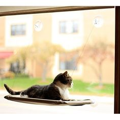 "K&H Manufacturing EZ Mount Window Bed Kitty Sill Green 27"" x 11"""