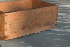 Vintage Sunsweet Wooden Fruit Box by DancingRain on Etsy, $25.00
