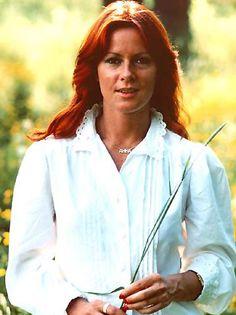 Anni-Frid Lyngstad, the dark one of ABBA