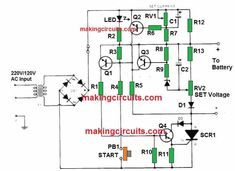 Automatic Battery Charger, Android Secret Codes, Power Supply Circuit, Electronic Circuit Projects, Lead Acid Battery, Diy Electronics, Thing 1 Thing 2, Coding, Charger