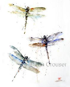 DRAGONFLIES - Crouser Fine Art Store