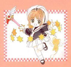 CLAMP, Cardcaptor Sakura, Cardcaptor Sakura Illustrations Collection 3, Kero-chan, Kinomoto Sakura, Sealing Wand5
