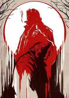 Monster Within   Rogier van de Beek - Follow Artist on ArtStation // Facebook  More Hellboy Related Artworks